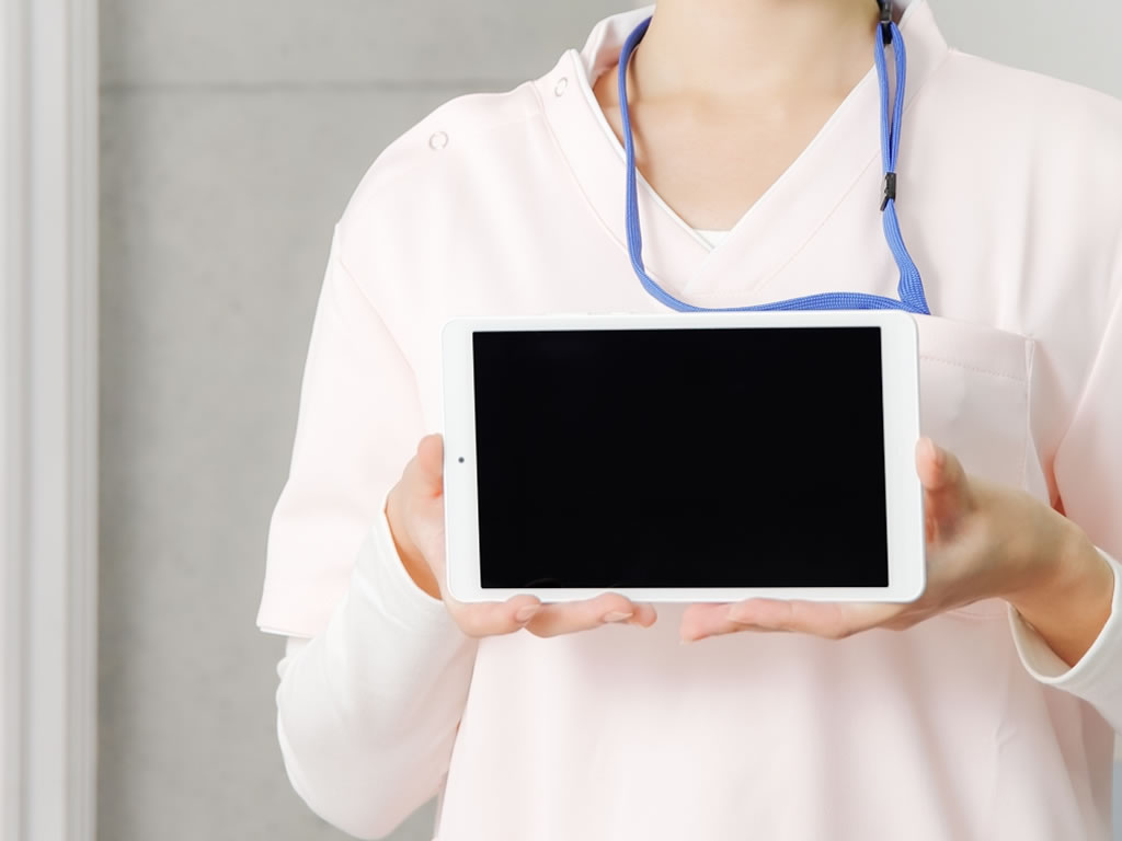 iPadを利用して「リモート面会」